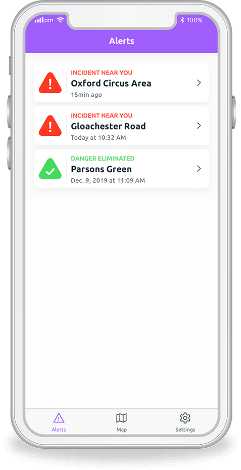Stay safe with the Safe Citizens app